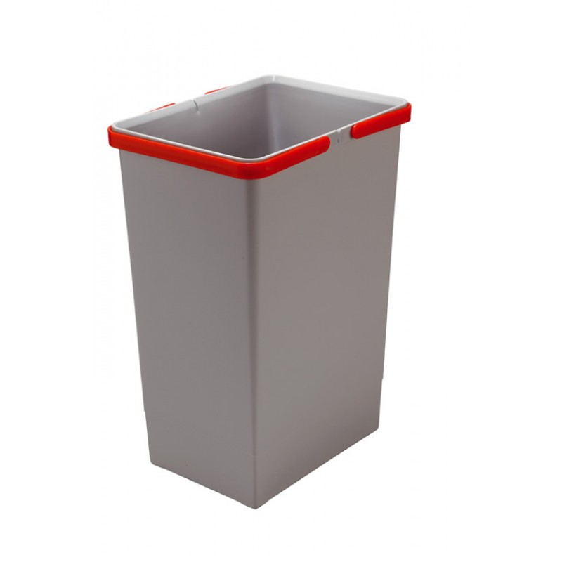 """Відро для сміття COVER BOX """"G"""" з ручками 24л (300*225*440мм), пластик"""