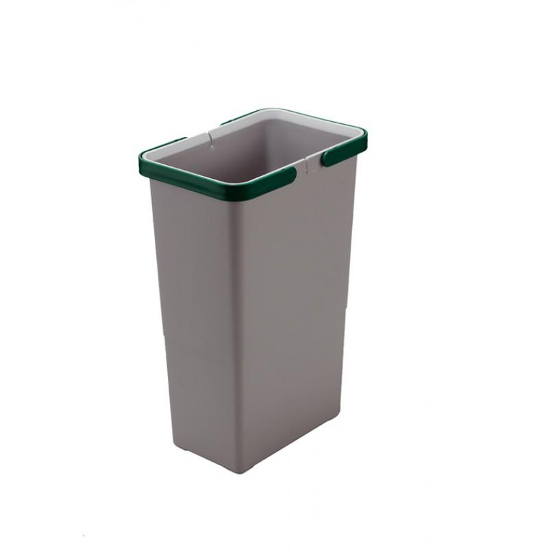 """Відро для сміття COVER BOX """"P"""" з ручками 8л (225*150*340мм), пластик"""